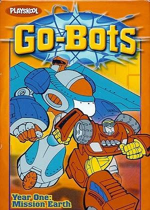 Гоу-боты / Go-Bots (Виктор Дэль Челе и Джон Грюсд) [2003, фантастика, VHSRip-AVC] VO