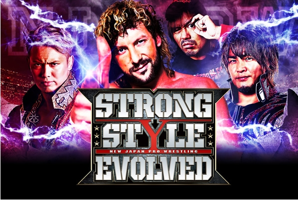 NJPW Strong Style Evolved 2018