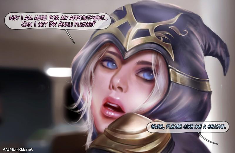 Firolian - Ashe in Hospital [Uncen] [ENG] Porn Comics