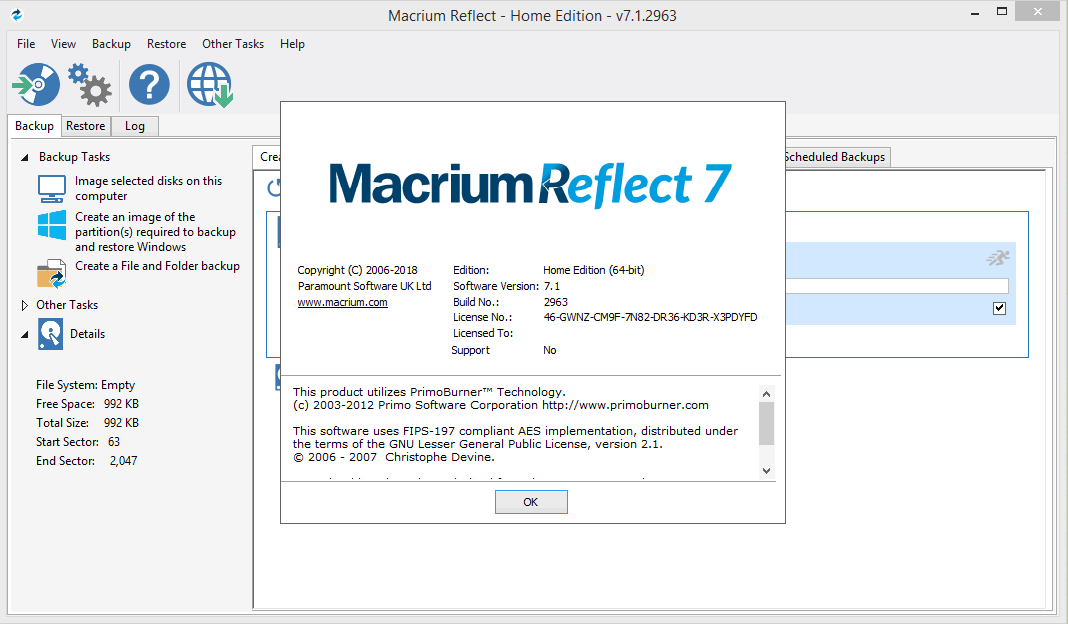 Macrium reflect rus торрент