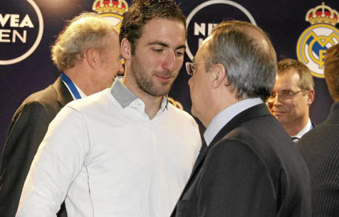 "Отец Игуаина: ""Уход моего сына из ""Мадрида"" – вина Переса"""