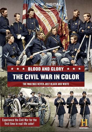 Кровь и слава. Гражданская война в США в цвете / Blood and Glory: The Civil War in Color (2015) HDTVRip [H.264/720p-LQ] (4 серии из 4)