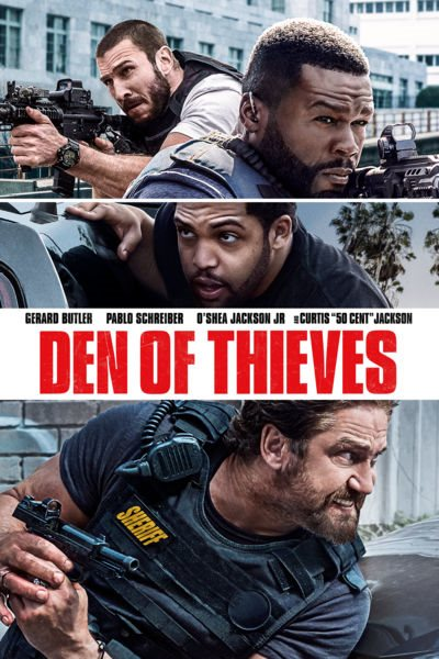 Охота на воров / Den of Thieves (2018) WEB-DLRip [480p] iPod