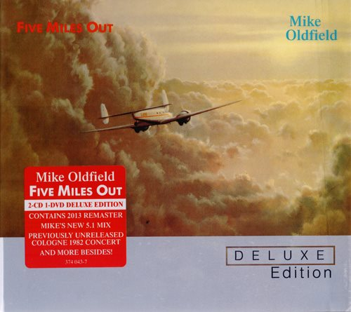 Mike Oldfield - Five Miles Out (Deluxe Edition) (2013) 1982 [DTS 5.1 CD-DA|44.1/16|image+.cue|Audio-DVD] <new age, pop/rock>