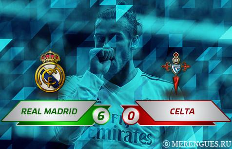 Real Madrid C.F. - R.C. Celta de Vigo 6:0