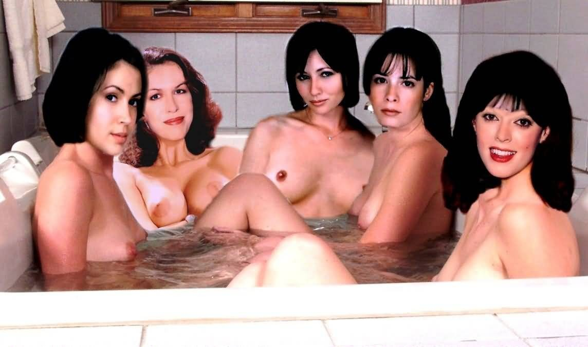 Movie naked pic of the charmed girls chest