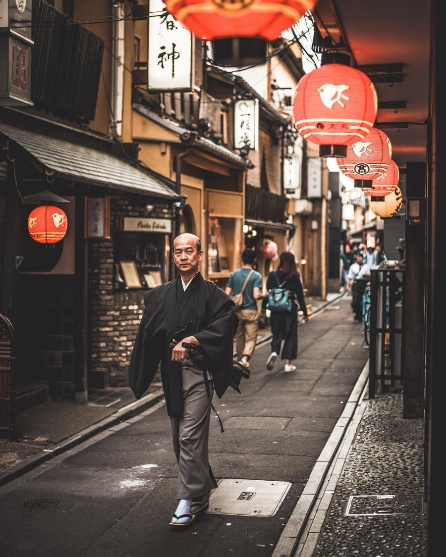 Улочки Японии
