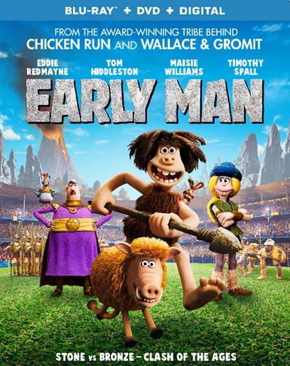 Дикие предки / Early Man (Ник Парк / Nick Park) [2018, Великобритания, Франция, мультфильм, BDRip] Dub (iTunes)