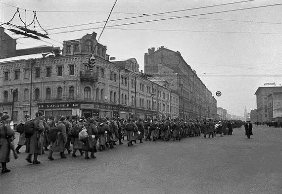 История массовых бегств из Москвы
