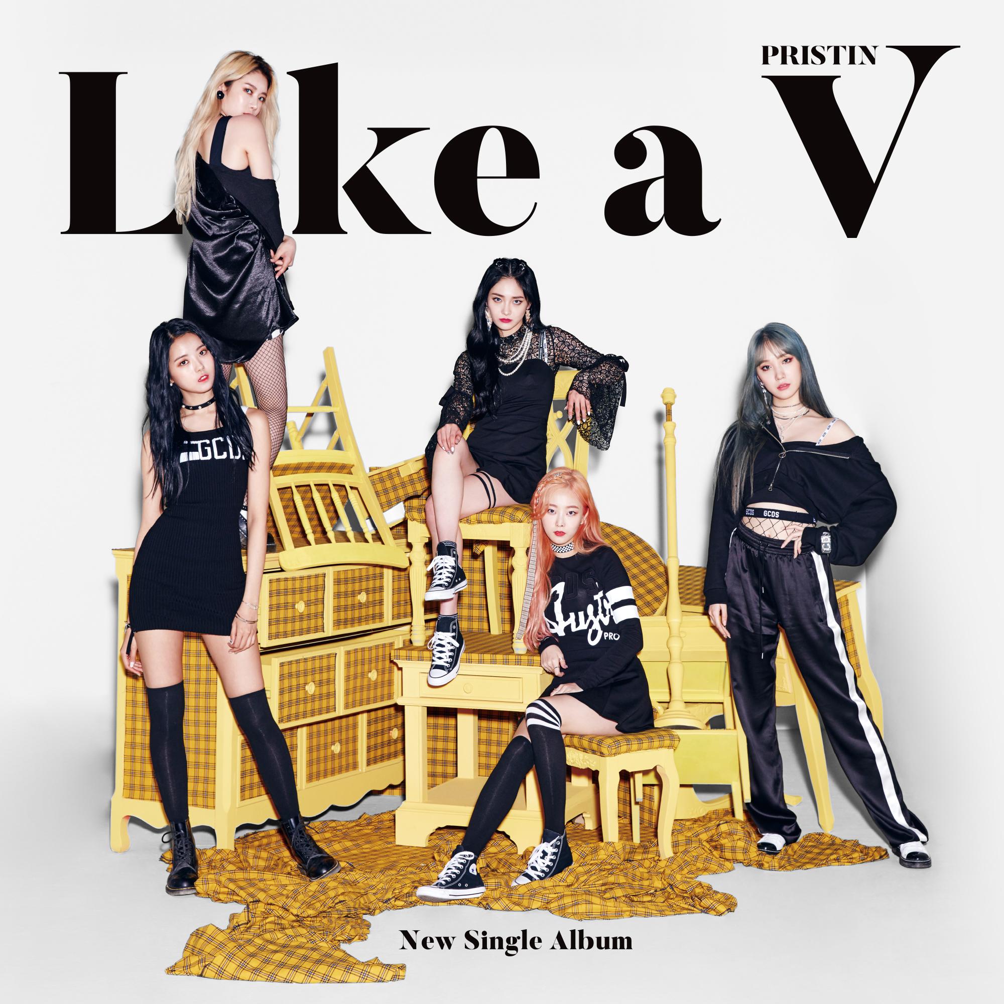 20180603.0900.11 Pristin V - Like a V cover.jpg