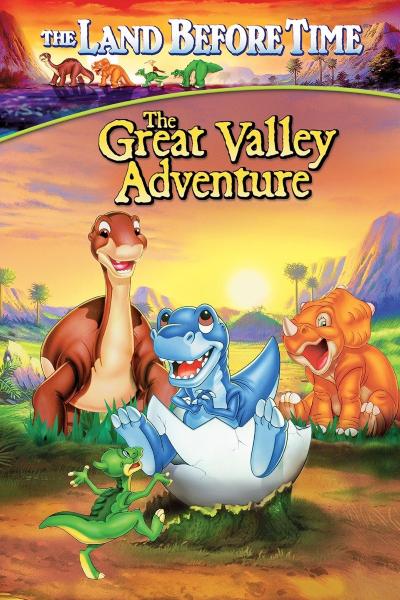 Земля до начала времен 2: Приключения в Великой Долине / The Land Before Time II: The Great Valley Adventure (Рой Аллен Смит / Roy Allen Smith) [1994, США, приключения, семейный, WEB-DL 1080p] Dub + MVO + AVO