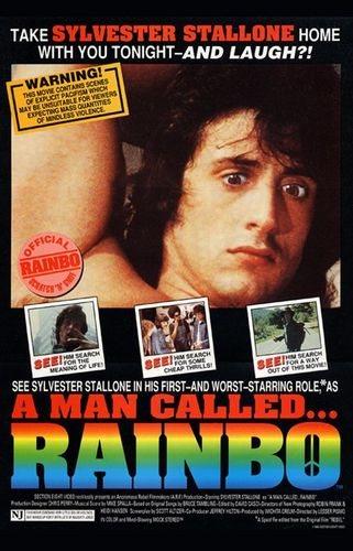 Человек по имени Рейнбо / Рейнбо / A Man Called... Rainbo [1990, комедия, VHSRip] AVO Младокашкин