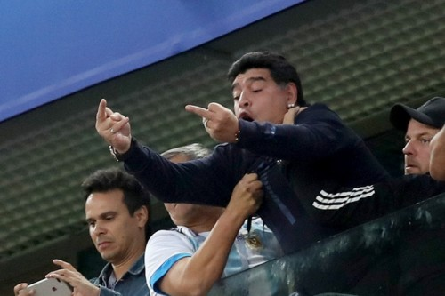 ФИФА разорвала сотрудничество с Марадоной из-за его поведения [Футбол]