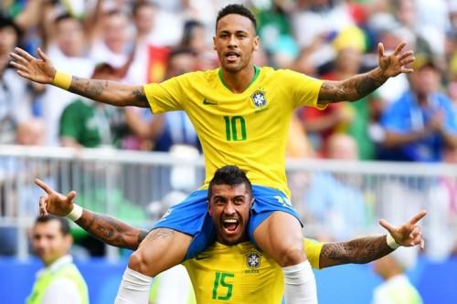 ЧМ-2018.1/8 финала.Бразилия-Мексика (обзор) [Футбол]