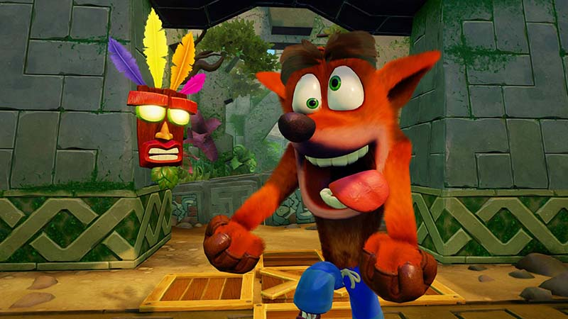 Crash Bandicoot N. Sane Trilogy (2018/PC/Английский), RePack от qoob