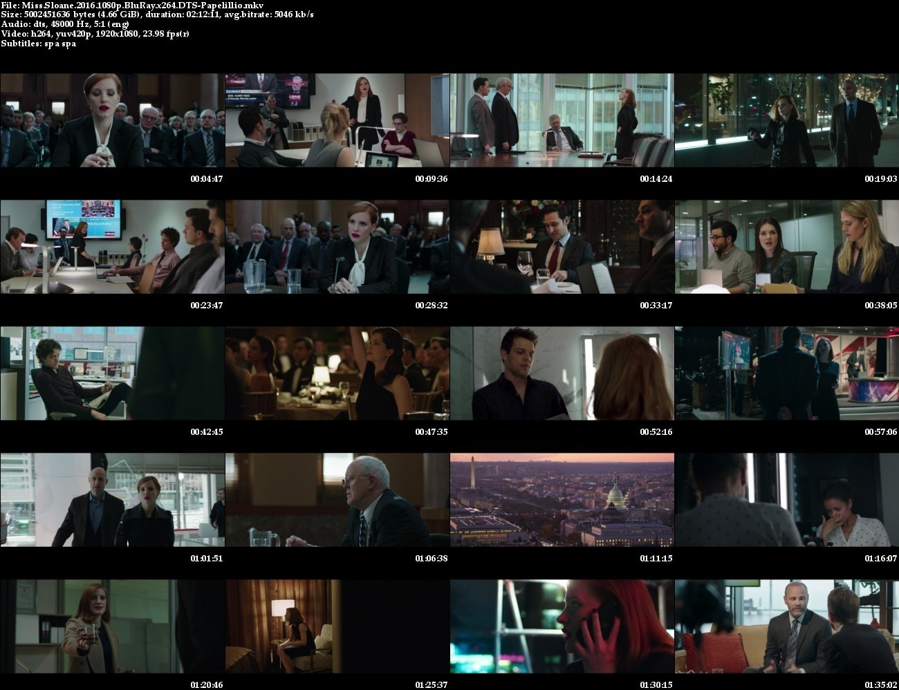 Miss Sloane 2016 1080p BluRay x264-GECKOS