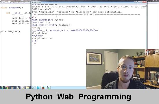 Udemy.com | Python Web Programming (2015) PCRec [H.264 / 720p-LQ] [RU / EN]