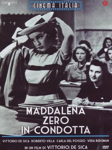 Маддалена, ноль за поведение / Maddalena... zero in condotta (Витторио Де Сика / Vittorio De Sica) [1940, Италия, комедия, DVD5 (Custom)] VO (Линда) + Sub Rus + Original Ita + Sub Ita + Sub Eng