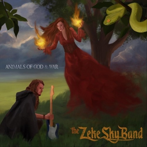 (Psychedelic / Classic Rock) The Zeke Sky Band - Animals of God & War - 2018, MP3, 320 kbps