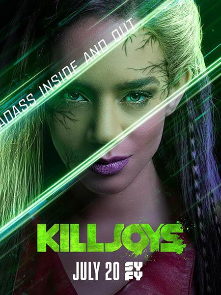 Киллджойс / Killjoys [04x01-03 из 10] (2018) WEBRip | ColdFilm