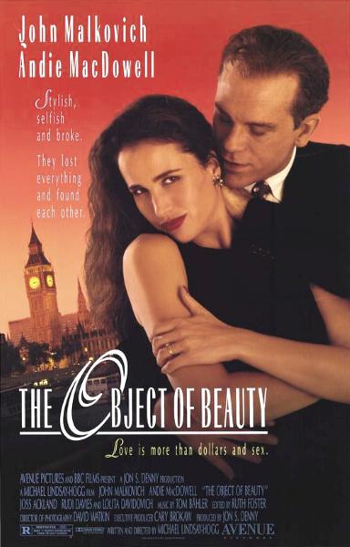Предмет красоты / Прелестная вещь / The Object of Beauty (Майкл Линдсей-Хогг / Michael Lindsay-Hogg) [1991, Великобритания, США, драма, комедия, криминал, WEB-DL 1080p] DVO (НТВ+) + DVO (НТВ+) + Sub Eng + Original Eng