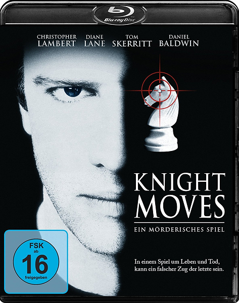 Ход королевой / Knight Moves (1992) BDRip 720p | D, P, A