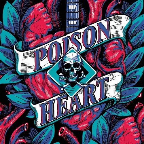 (Hard / Punk Rock) Poison Heart - Heart of Black City - 2018, MP3, 320 kbps