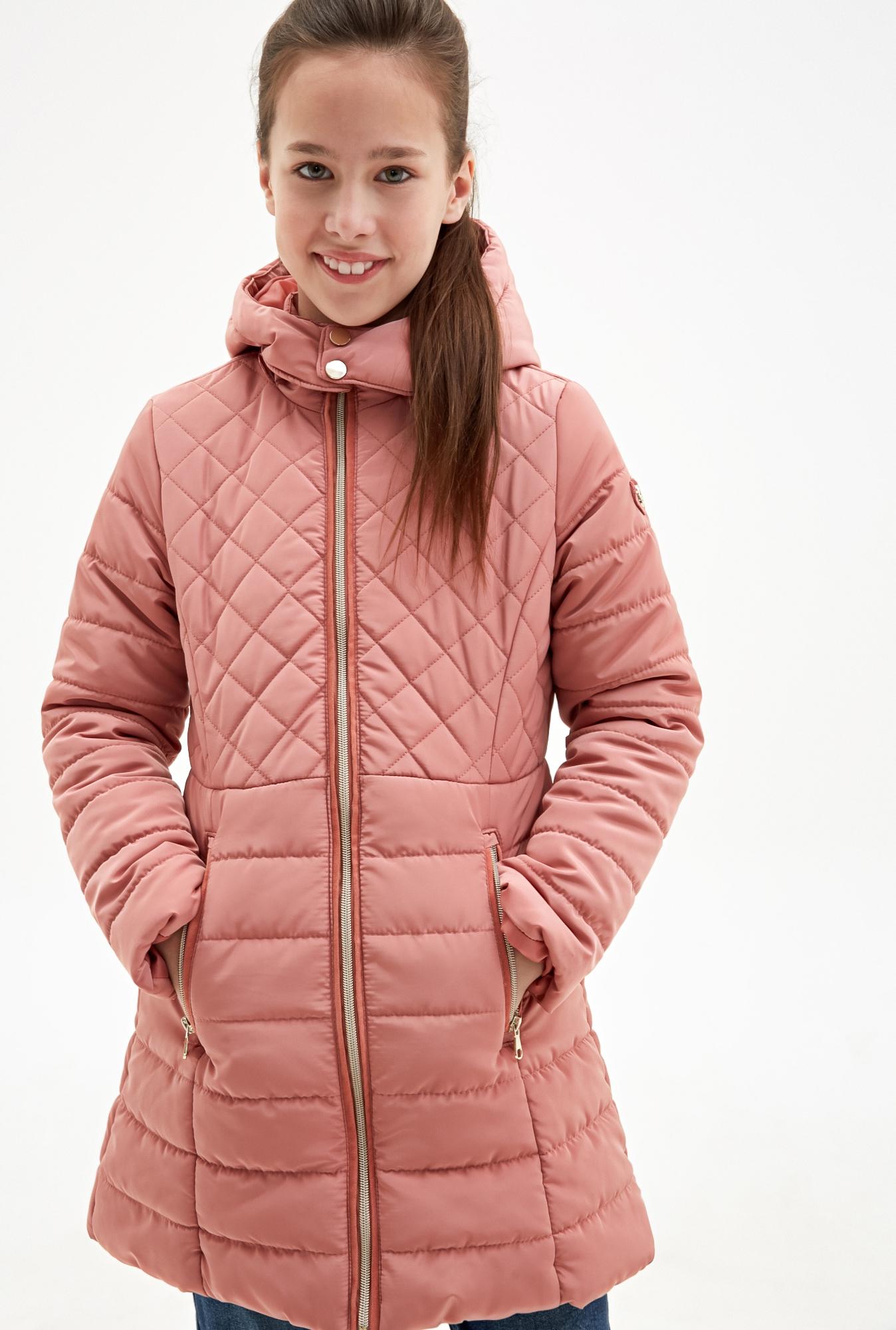 Пальто детское для девочек Zimia_S светло-розовый