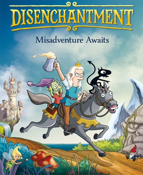 Разочарование / Disenchantment [S01] (2018) WEBRip 720p | RusFilm