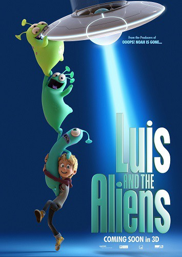 Luis and His Friends from Outer Space 2018 HDRip XviD AC3-EVO