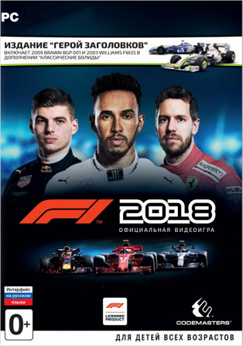 F1 2018: Headline Edition [v 1.06 + DLC] (2018) PC | RePack