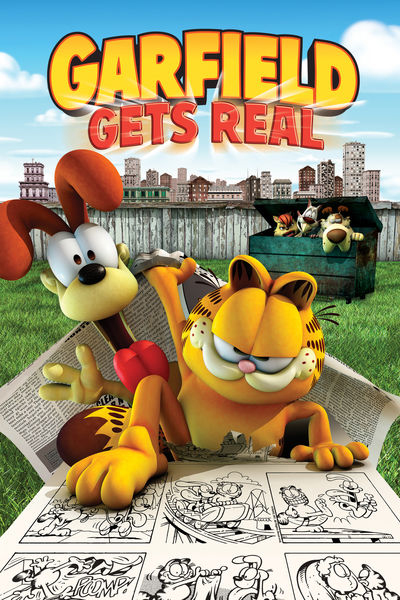 Настоящий Гарфилд / Garfield Gets Real (Марк А.З. Диппе, Кюнг Хо Ли / Mark A.Z. Dippe, Kyung Ho Lee) [2007, мультфильм, комедия, семейный, WEB-DL 1080p] Dub (CDI Media) + MVO (CPIG) + Ukr MVO + Original Eng + Eng sub