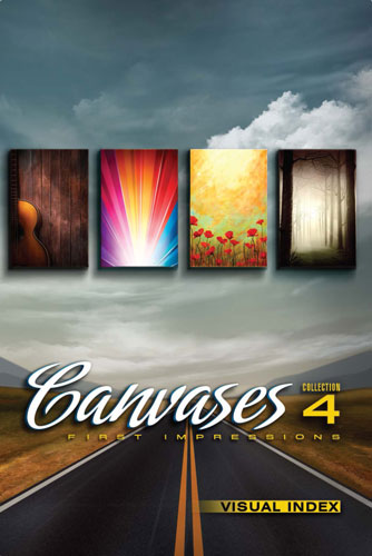 Digital Juice – Canvases Collections.(Collection 4 - First Impressions)[1000 JPG]