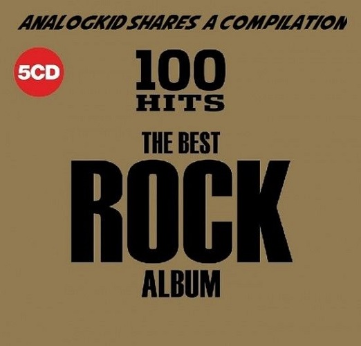 VA - 100 Hits - The Best Rock Album [5CD] (2018) MP3 [320 kbps]