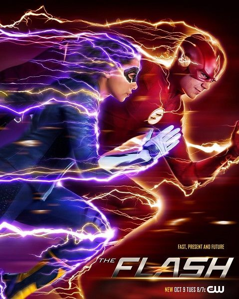 Флэш / The Flash [05x01-14 из 23] (2018) WEBRip 720p | GostFilm