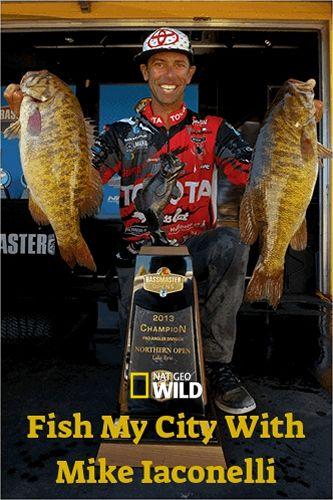 NGW: Рыбалка с Майком Иаконелли. Самая быстрая рыба в Майами / Fish My City With Mike Iaconelli. The fastest fish in Miami (2018) HDTV [H.264 / 1080i-LQ]