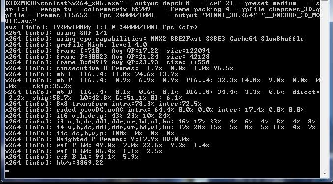BD3D2MK3D v1 11: Convert 3D BDs or MKV to 3D SBS, T&B or