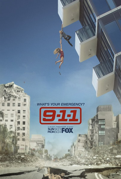 911 служба спасения / 9-1-1 [02х01-07 из 16] (2018) WEB-DL 1080p | NewStudio
