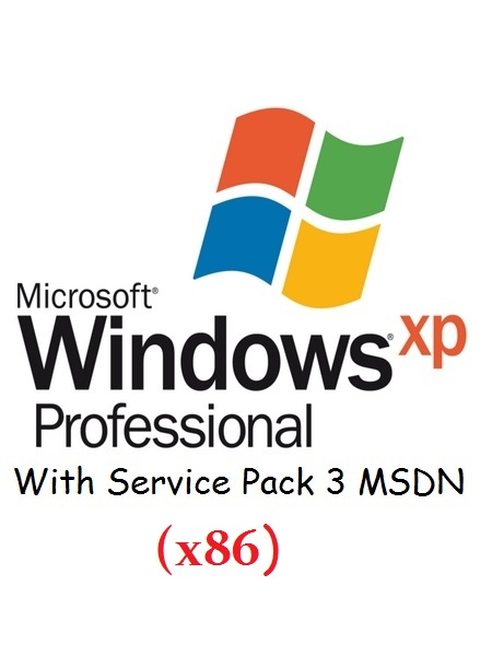 Windows XP Pro With Service Pack 3 MSDN (26 Language)