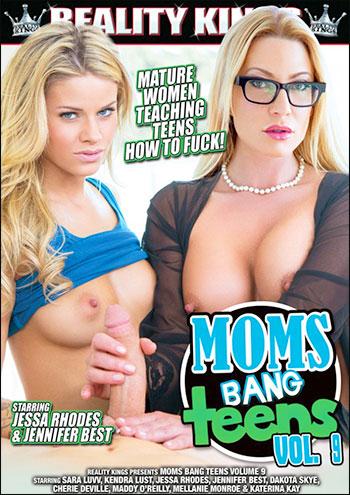 Мамы дрючат подростков 9 / Moms Bang Teens 9 (2014) DVDRip