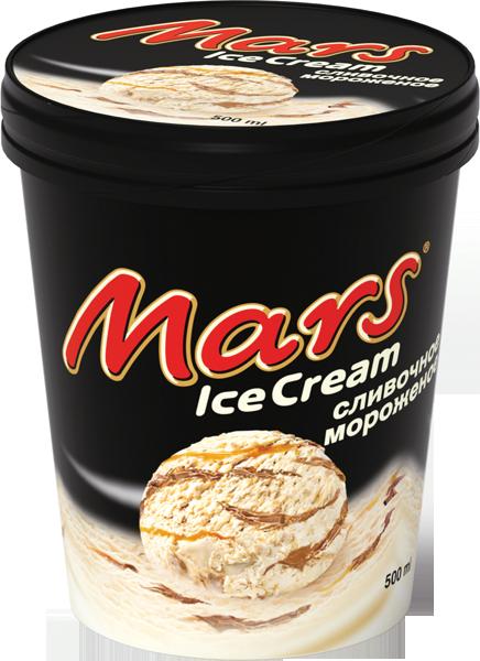 "Марс ведро карам. шок/гл 315г *8 ""Марс"" Франция"