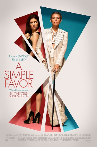 A Simple Favor 2018 720p BRRip X264 AC3-EVO