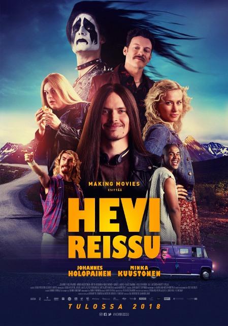 Тяжёлая поездка / Hevi reissu (2018) AC3 5.1 [hand made]