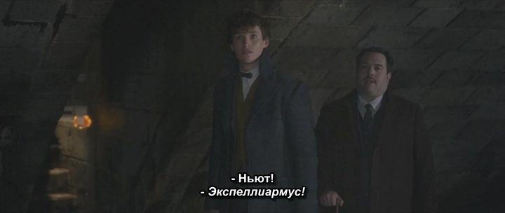 Фантастические твари: Преступления Грин-де-Вальда / Fantastic Beasts: The Crimes of Grindelwald (2018/WEBRip) / Sub, UKR