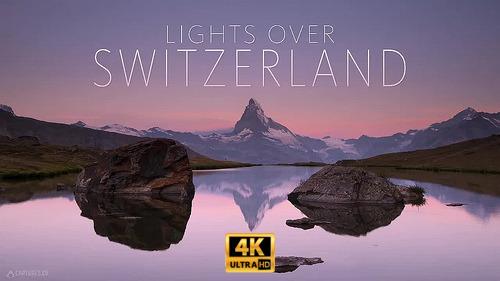 Огни над Швейцарией / Lights over Switzerland (2018) WEBRip [H.264/2160p] [4K, HDR]