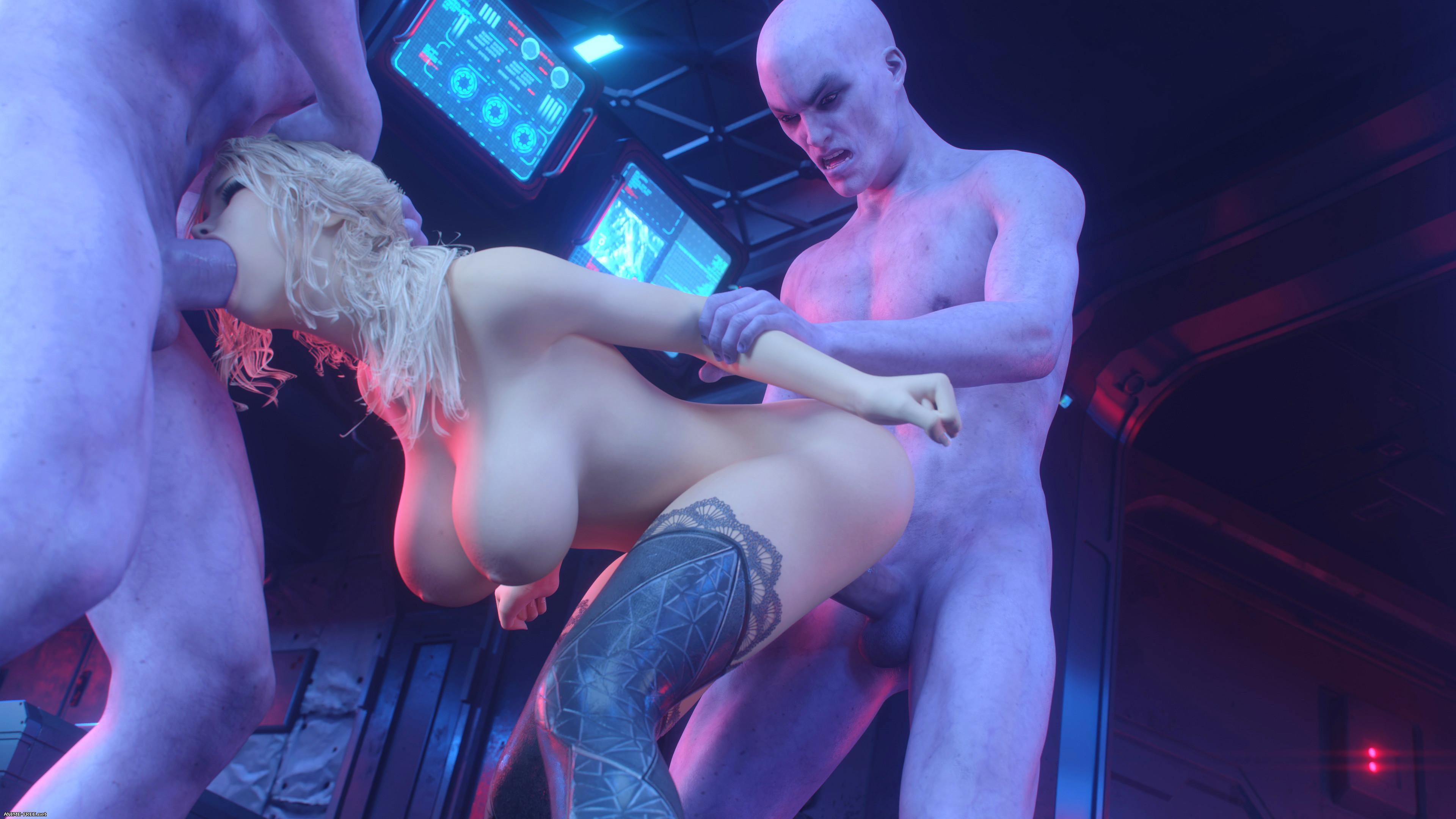 Danger Zone 2 [3DCG] [Uncen] [No-Text] Porn Comics