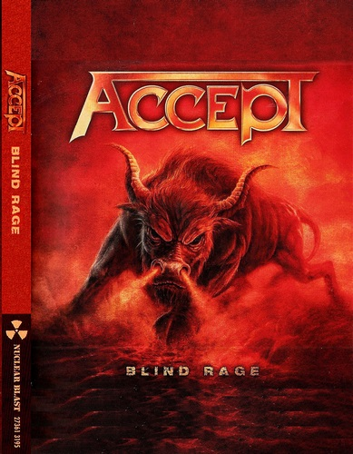 Accept - Blind Rage: Live in Chile (2014, DVD9)