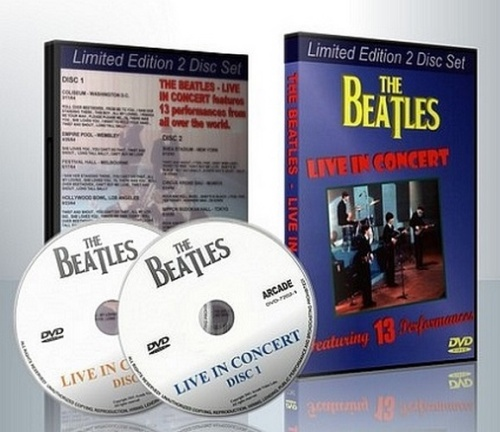 The Beatles - Live in Concert 13 Performances (1964-1969, 2xDVD5)