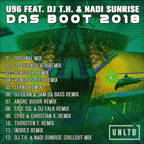 U96 ft. DJ T.H. and Nadi Sunrise - Das Boot (2018)