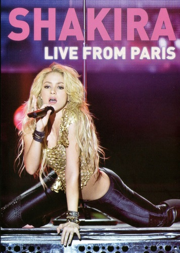 Shakira - Live from Paris (2011, BDRip 1080p)